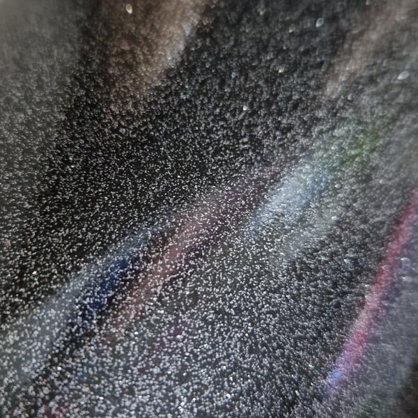 Schwarz Glitter