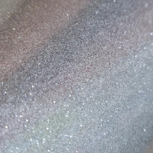 Silber Glitter